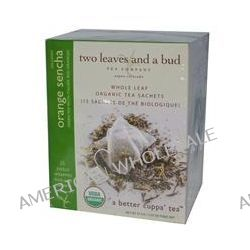 Two Leaves and a Bud, Organic Orange Sencha, Green Tea, 15 Sachets, 1.33 oz (37.5 g)