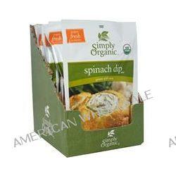 Simply Organic, Spinach Dip Mix, 12 Packets, 1.41 oz (40 g) Each