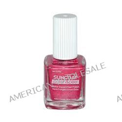 Suncoat, Polish & Peel, Water-Based Nail Polish, Pink Dahila, 0.27 oz (8 ml)