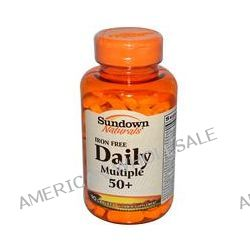 Rexall Sundown Naturals, Daily Multiple 50+, Iron Free, 90 Caplets
