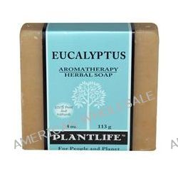 Plantlife, Aromatherapy Herbal Soap Bar, Eucalyptus, 4 oz  (113 g)