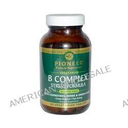 Pioneer Nutritional Formulas, B Complex Stress Formula, 60 Veggie Tabs