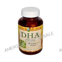 Pure Vegan, DHA, 200 mg, 60 Veggie Softgels