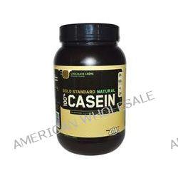 Optimum Nutrition, Gold Standard Natural, 100% Casein, Chocolate Crème, 2 lbs (909 g)