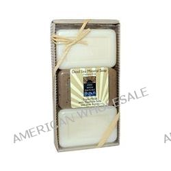One with Nature, Dead Sea Mineral Soap, Fragrance Free, 3 Bar Gift Pack, 12 oz