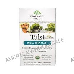 Organic India, Tulsi Holy Basil Tea, India Breakfast, 18 Infusion Bags, 1.08 oz (30.6 g)