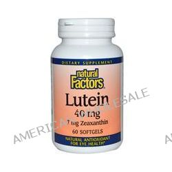 Natural Factors, Lutein, 40 mg, 60 Softgels