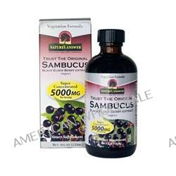 Nature's Answer, Sambucus, Black Elder Berry Extract (nigra), 4 fl oz (120 ml)
