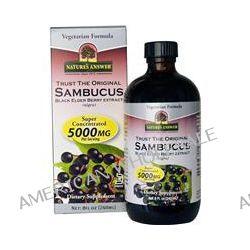 Nature's Answer, Sambucus, Black Elder Berry Extract (Nigra), 5000 mg, 8 fl oz (240 ml)