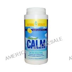 Natural Vitality, Natural Calm, A Relaxing Magnesium Supplement, Sweet Lemon Flavor, 16 oz (453 g)