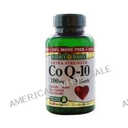 Nature's Bounty, Co Q-10, Extra Strength, Q-Sorb, 200 mg, 80 Softgels