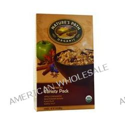 Nature's Path, Organic, Hot Oatmeal, Variety Pack, 8 Packets, 50 g Each