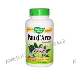 Nature's Way, Pau d'Arco Inner Bark, 545 mg, 180 Capsules