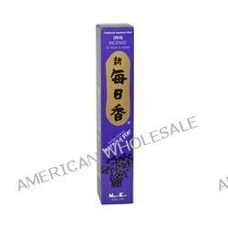 Nippon Kodo, Morning Star, Iris Incense, 50 Sticks & Holder