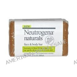 Neutrogena Naturals, Face & Body Bar, Fragrance Free, 3.5 oz (99 g)
