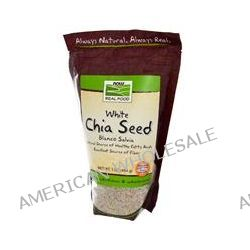 Now Foods, Real Food, White Chia Seed, 1 lb (454 g)