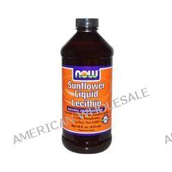 Now Foods, Sunflower Liquid Lecithin, 16 fl oz (473 ml)