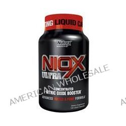 Nutrex Research Labs, Niox Ultra, Concentrated Nitric Oxide Booster, Advanced Muscle & Pump Formula, 120 Liquid Capsules
