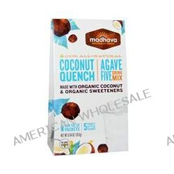 Madhava Natural Sweeteners, Agave Five Drink Mix, Coconut Quench, 6 Packets, 0.94 oz (26.6 g)