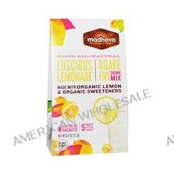 Madhava Natural Sweeteners, Agave Five Drink Mix, Luscious Lemonade, 6 Packets, 0.97 oz (27.5 g)