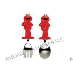 Munchkin, Sesame Street Toddler Fork & Spoon, Elmo, 2 Piece
