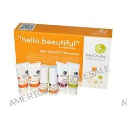 """MyChelle Dermaceuticals, """"Hello, Beautiful"""" Collection, Age Spot/UV Recovery Sample Kit, 6 Piece Kit"""