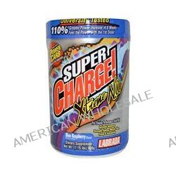 Labrada Nutrition, Super Charge! Xtreme N.O., Blue Raspberry Flavor, 1.76 lbs (800 g)