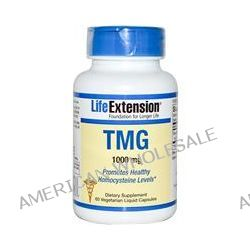 Life Extension, TMG, 1000 mg, 60 Veggie Liquid Caps