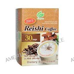 Longreen Corporation, 2 in 1 Reishi Coffee, Reishi Mushroom & Columbian Coffee, 30 Bags, 2.3 oz (65.4 g) Each