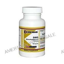 Kirkman Labs, DMG (Dimethylglycine), 125 mg, 100 Capsules