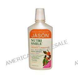 Jason Natural, NutriSmile, All Natural Mouthwash, Enamel Defense Orange Cinnamint, 16 fl oz (473 ml)