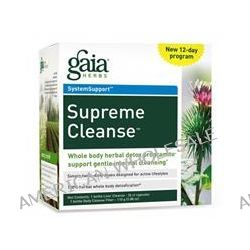 Gaia Herbs, Supreme Cleanse, 12-Day Program