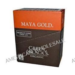 Green & Black's Chocolate, Organic Dark Chocolate, Maya Gold, 10 Bars, 3.5 oz (100 g) Each