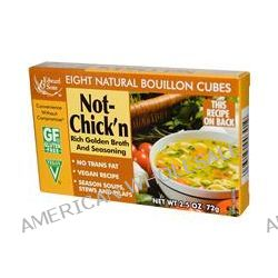 Edward & Sons, Not-Chick'n, Natural Bouillon Cubes, 8 Cubes, 9 g Each