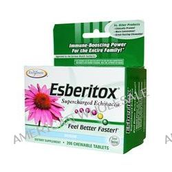 Enzymatic Therapy, Esberitox, Supercharged Echinacea, 200 Chewable Tablets