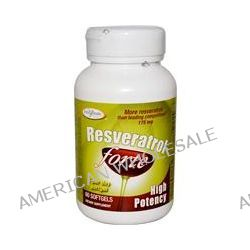 Enzymatic Therapy, Resveratrol~Forte, High Potency, 175 mg, 60 Softgels