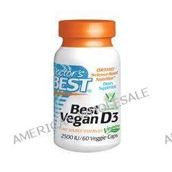 Doctor's Best, Best Vegan D3, 2500 IU, 60 Veggie Caps