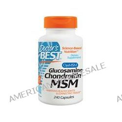 Doctor's Best, Glucosamine Chondroitin MSM, 240 Capsules