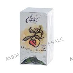 Choice Organic Teas, Green Tea with Essence of Peach, 20 Tea Bags, 1.2 oz (36 g)