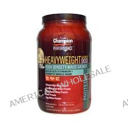 Champion Nutrition, Heavyweight Gainer 900, Vanilla Ice Cream, 3.3 lbs (1,500 g)