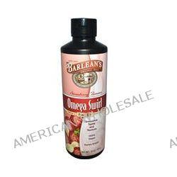 Barlean's, Omega Swirl, Omega-3 Flax Oil Supplement, Strawberry Banana, 16 oz (454 g)