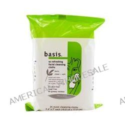 Cannot tell Basis so refreshing facial cleansing cloths