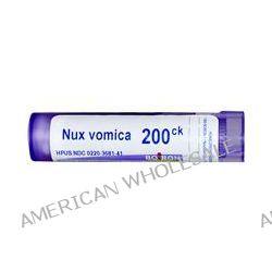 Boiron, Single Remedies, Nux Vomica, 200CK, Approx 80 Pellets
