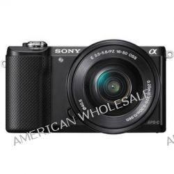 Sony Alpha a5000 Mirrorless Digital Camera ILCE5000L/B B&H Photo