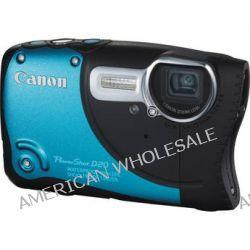 Canon PowerShot D20 Waterproof Digital Camera (Blue) 6145B001