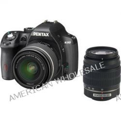 Pentax K-50 DSLR Camera with 18-55mm f/3.5-5.6 and 10905 B&H