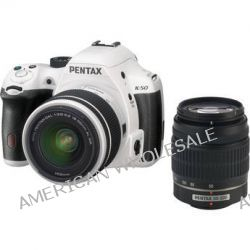 Pentax K-50 DSLR Camera with 18-55mm f/3.5-5.6 and 10950 B&H