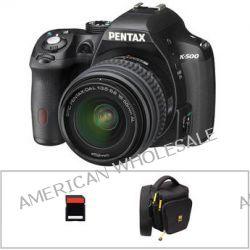 Pentax K-500 DSLR Camera with 18-55mm Lens Basic Kit B&H Photo