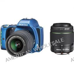 Pentax K-S1 DSLR Camera with 18-55mm and 50-200mm Lenses 06505