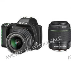 Pentax K-S1 DSLR Camera with 18-55mm and 50-200mm Lenses 06436